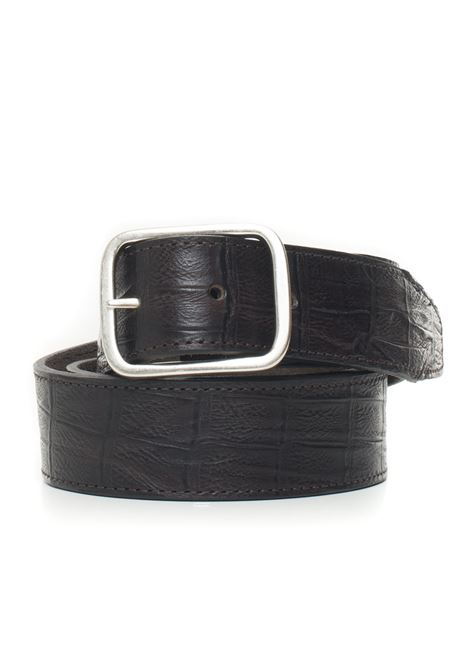 Leather belt MINORONZONI 1953 | 20000041 | MRF1910C36C60