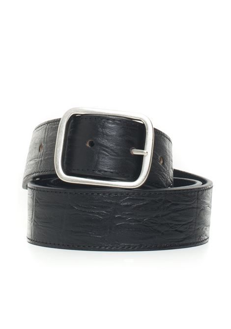 Leather belt MINORONZONI 1953 | 20000041 | MRF1910C36C99