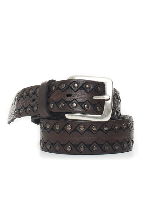 Leather belt MINORONZONI 1953 | 20000041 | MRF1911C38C60