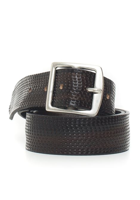 Leather belt MINORONZONI 1953 | 20000041 | MRF192C012C60