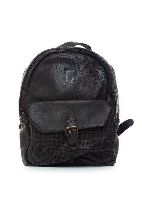 Leather rucksack MINORONZONI 1953 | 5032307 | MRF194B113C60