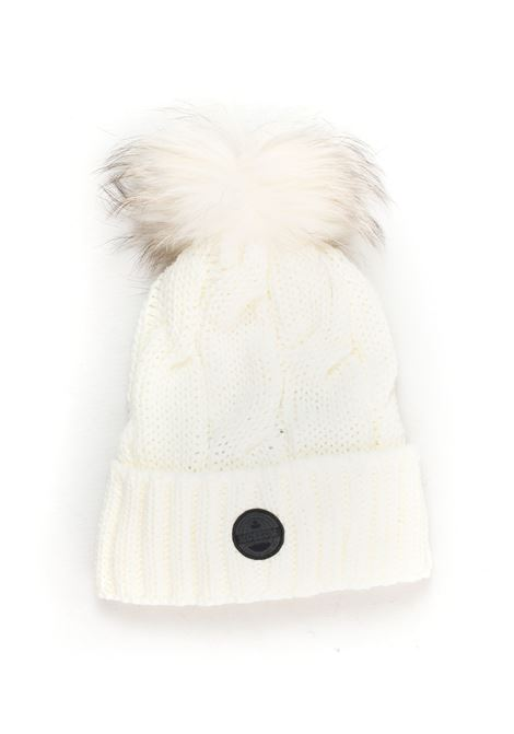 Rib hat with pom poms Museum | 5032318 | HA28-VP739C000