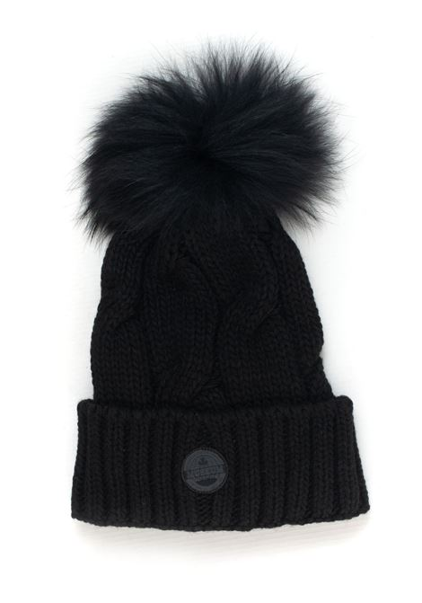 Rib hat with pom poms Museum | 5032318 | HA28-VP739C002