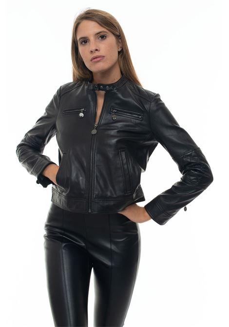 NABUCCO leather harrington jacket Pennyblack | -276790253 | NABUCCO-396003