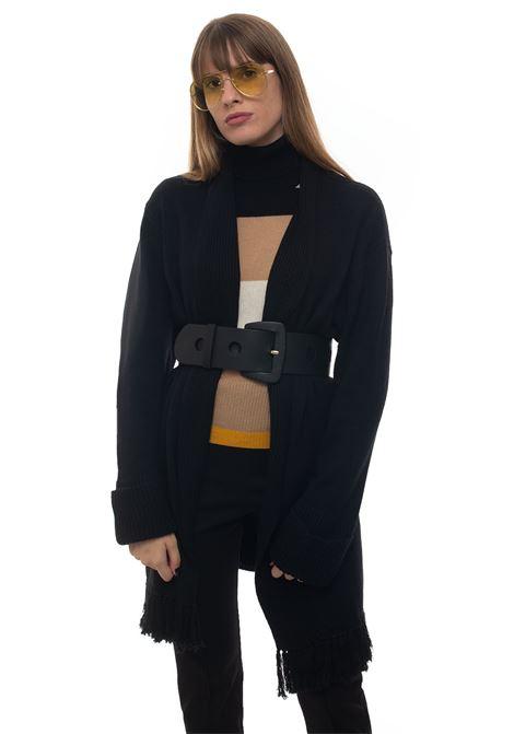 Occhio cardigan with large shawl collar Pennyblack | 39 | OCCHIO-272003