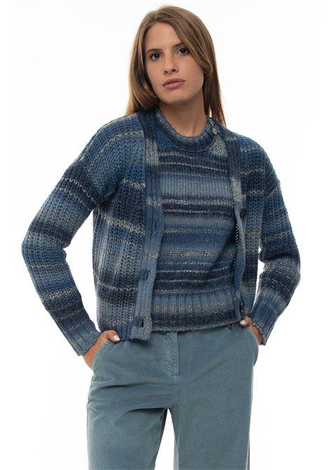 OFELIA Rib knit Cardigan Pennyblack | 39 | OFELIA-348004