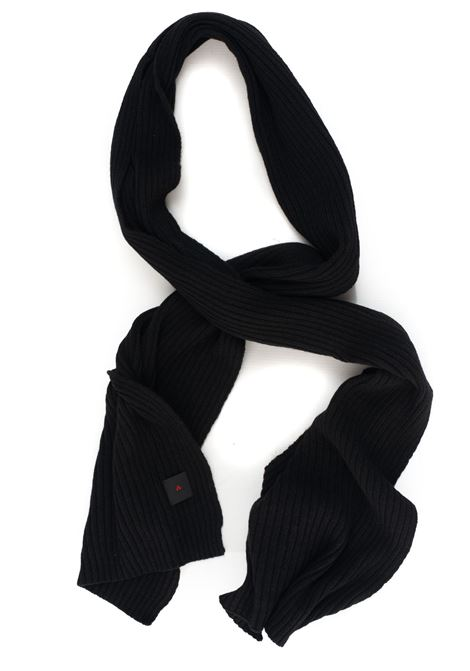 Valur_Man large ribbed scarf Peuterey | 77 | VALUR.MAN02-PEU3388NER