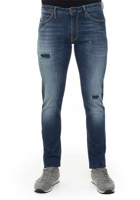 Denim Jeans  with cuttings PT05 | 24 | C5DJ05Z10DES-TX15MC58