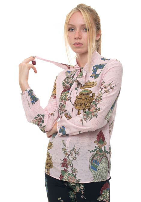 Silk fantasy blouse Red Valentino   6   SR0ABB05-4HPKY0