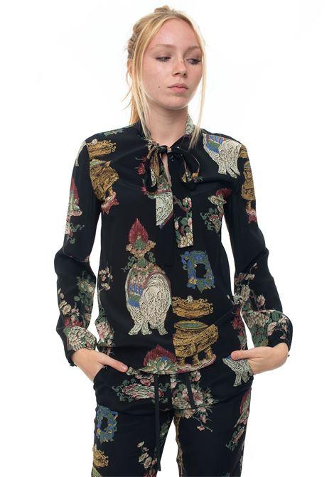 Silk fantasy blouse Red Valentino   6   SR0ABB05-4HPON0
