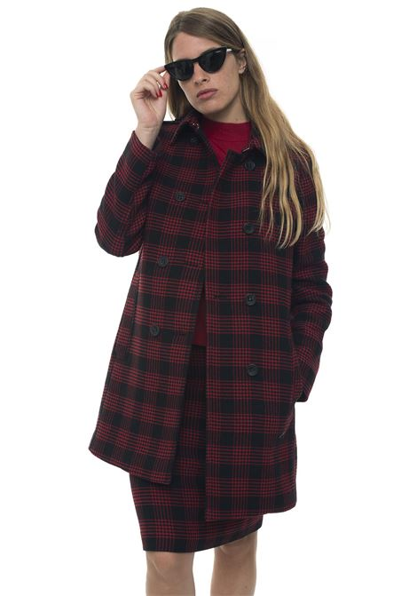 Double-breasted coat Red Valentino | 1631859650 | SR3CAA55-49AD05