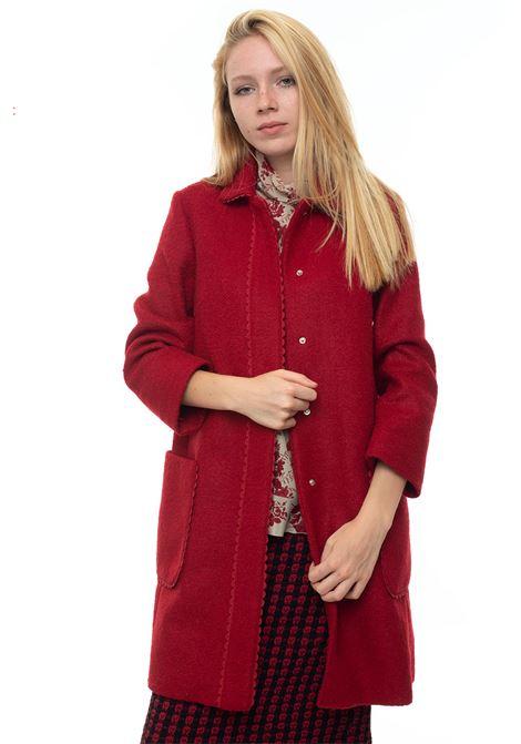 Bouclé coat Red Valentino | 17 | SR3CAA85-498D05