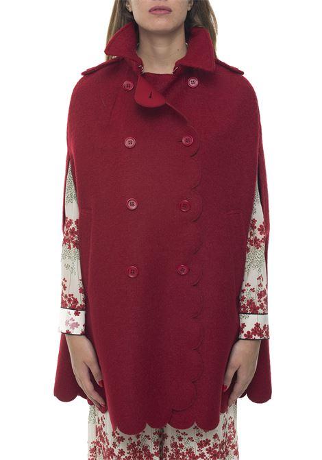 Double-breasted cape Red Valentino | 20000022 | SR3CGA15-498D05