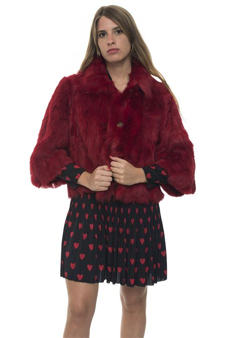 Cropped fur coat Red Valentino | 20000061 | SR3NA01D-4BTD05