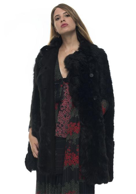 Longline fur coat Red Valentino | 20000061 | SR3NB00F-4BT0NO