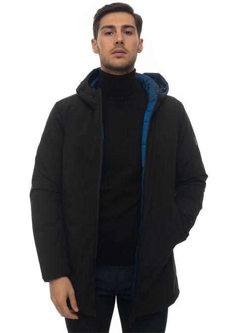 BLAND reversible jacket Refrigue | 20000057 | BLAND-R62213HYU2MBLACKDARK ROYAL