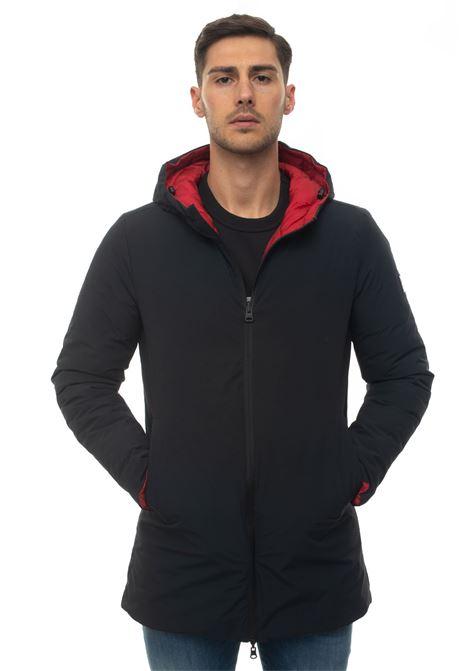 BLAND reversible jacket Refrigue | 20000057 | BLAND-R62213HYU2MDARK BLUEBRIGHT RED