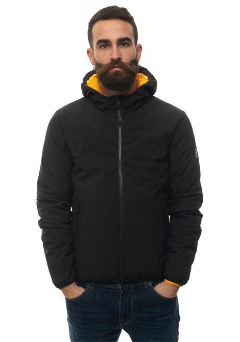 EVO5 hooded harrington jacket Refrigue | -276790253 | EVO5-R57635EGU2MBLACKYELLOW
