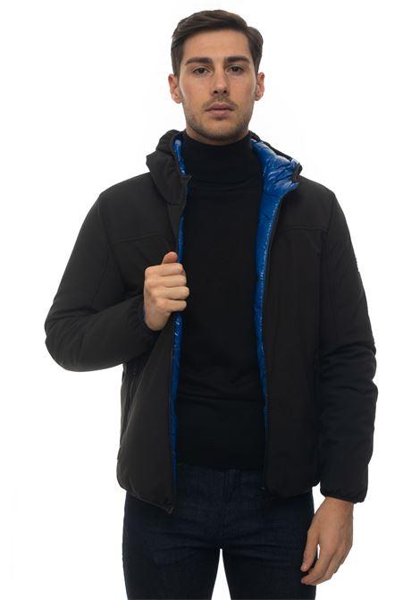 EVO5 hooded harrington jacket Refrigue | -276790253 | EVO5-R57635EGU2MBLACKDARK ROYAL