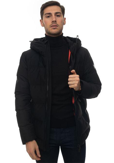 FLYT hooded harrington jacket Refrigue | -276790253 | FLYT-R57654OFU2MBLACK