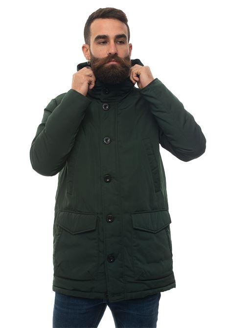 HELMER medium lenght harrington jacket Refrigue | 20000057 | HELMER-R69359RDU2MDARK MUSK