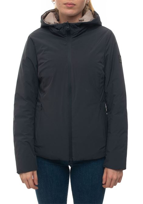 HEMMA Short harrington jacket Refrigue | -276790253 | HEMMA-R57643HYU2WLEADPOWDER