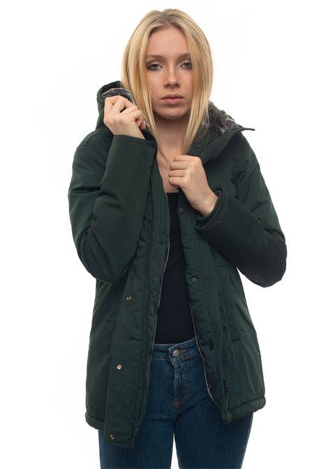 SERINA medium lenght harrington jacket Refrigue | 20000057 | SERINA-R62206RDU2WDARK MUSK