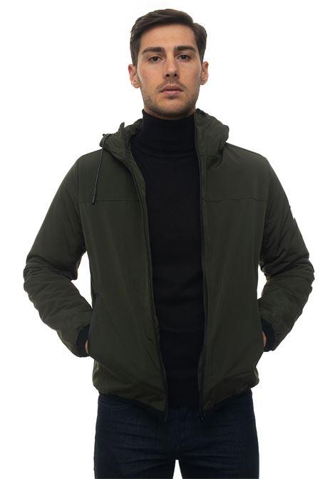 STABB hooded harrington jacket Refrigue | -276790253 | STABB-R57655ORU2MDARK FOREST