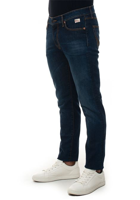 517-MEN PATER 5 pocket denim Jeans Roy Rogers | 24 | 517-MEN DENIM ELAST PATTERNPATER
