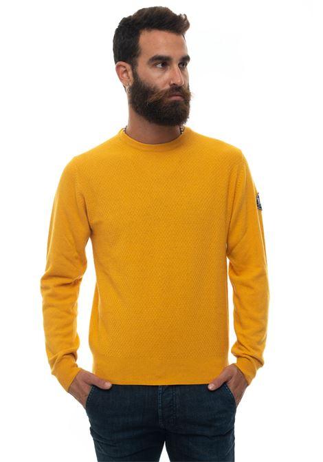 Round-neck pullover Roy Rogers | 7 | CREW NECK PUNTO SFALSATOZAFFERANO
