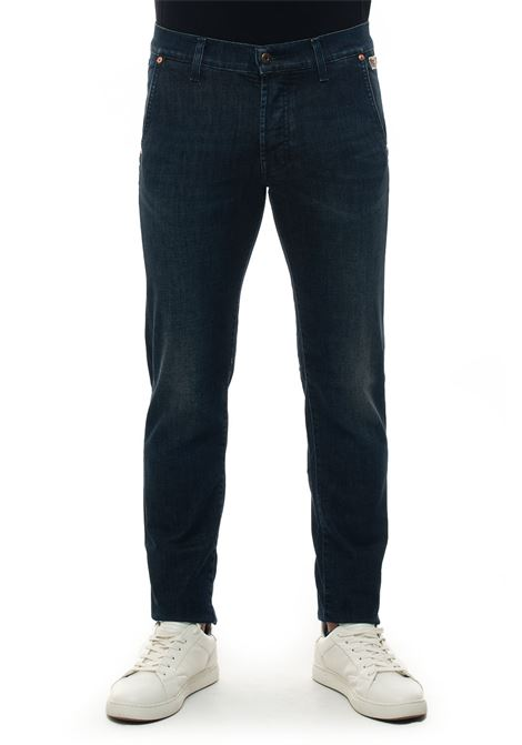 ELIAS MAN WEARED3 Jeans denim cut chino Roy Rogers | 24 | ELIAS MAN DENIM ELAST.WEARED 3