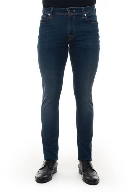 Leonardoslim 5 pocket denim Jeans Tramarossa | 24 | LEONARDO SLIM-D3929I49