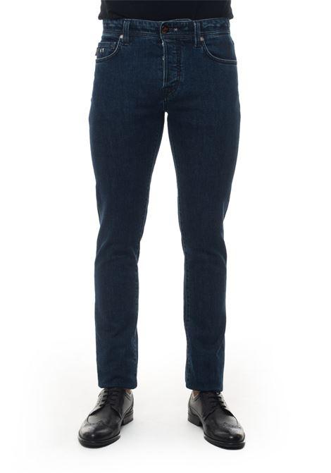 Leonardo 5 pocket denim Jeans Tramarossa | 24 | LEONARDO-D4219I45