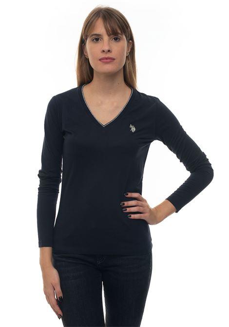 T-shirt collo a V US Polo Assn | 8 | 52384-48442179
