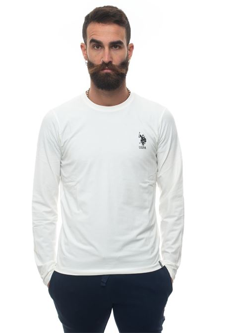 T-shirt manica lunga girocollo US Polo Assn | 8 | 52494-52029101