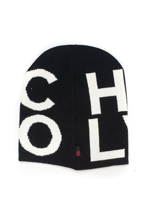 Cappello lungo in maglia PIQUET WOOL LOGO BEANIE HAT Woolrich | 5032318 | WOACC1630-UF0428100