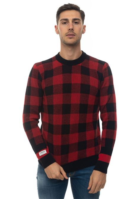Maglia girocollo BUFFALO CHECK CREW NECK Woolrich | 7 | WOMAG1875-UF03575321