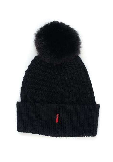 W'S SOFT WOOL BEANIE HAT rib hat with fur Woolrich | 5032318 | WWACC1449-UF0220100