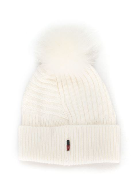 W'S SOFT WOOL BEANIE HAT rib hat with fur Woolrich | 5032318 | WWACC1449-UF02208055
