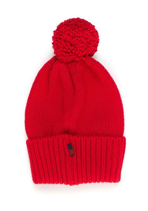 Rib hat with pom poms Woolrich | 5032318 | WWACC1460-UF00965093