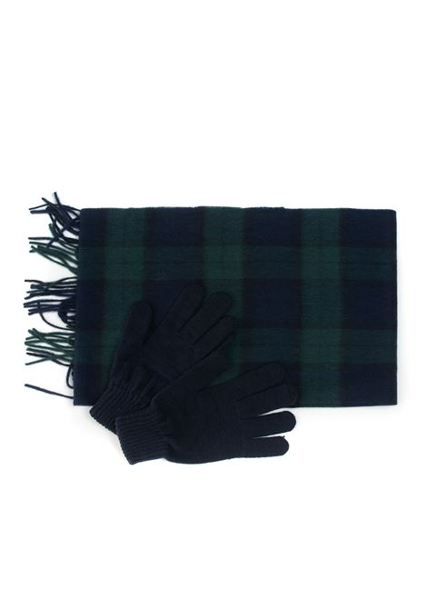 Gloves and scarf set Barbour | 20000012 | MGS0018NY91