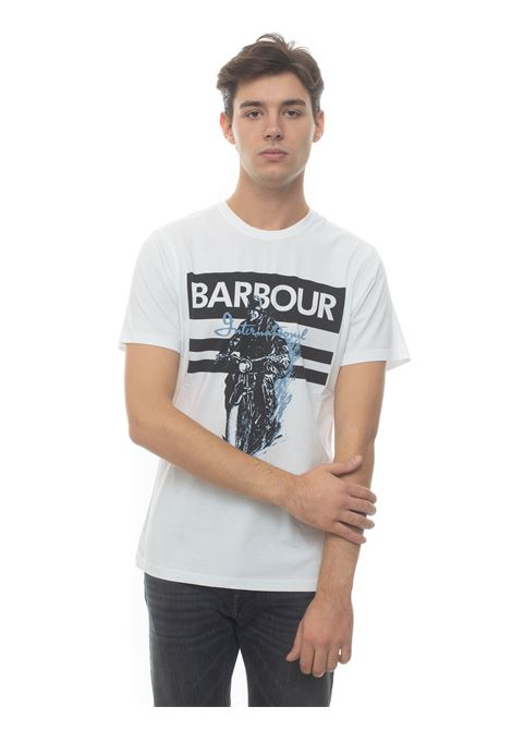T-shirt Barbour | 8 | MTS0736WH11
