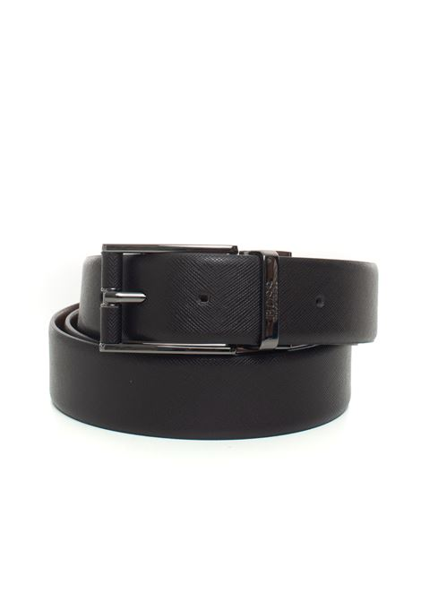 Belt in bicolored leather BOSS | 20000041 | FELIX-50397963203