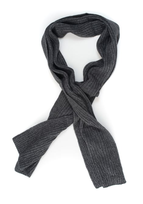 Mercur large ribbed scarf BOSS | 77 | MERCUR-50438658030