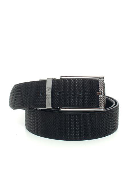 Belt in bicolored leather BOSS | 20000041 | OBERTHB-50440769004