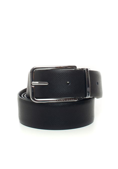 Belt in bicolored leather BOSS | 20000041 | OCALIS-50390283002