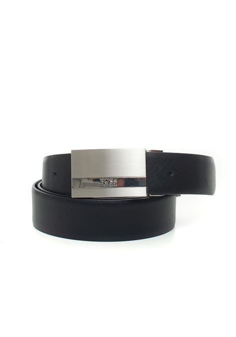 Olintos buckle belt with logo detail BOSS | 20000041 | OLINTOS-50440783001