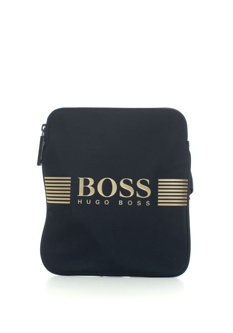 Pixel Shoulder bag in logo-textile BOSS | 20000001 | PIXEL-50332705411