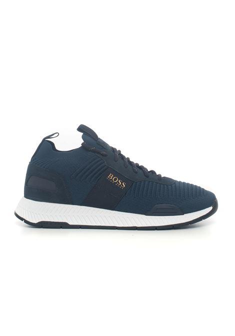 Titanium Runn canvas sneaker BOSS | 5032317 | TITANIUMRUNN-50414734407