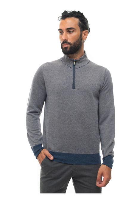 Pullover mezza zip Canali | 7 | C0732-MK00983306